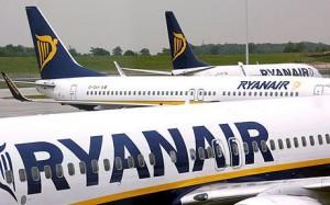 Voos a 5 euros na Ryanair