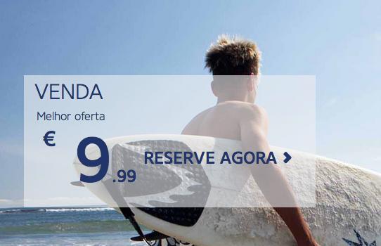 36 Destinos Ryanair em Promoção desde 9,99 euros