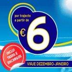 Voos Baratos - 6 euros