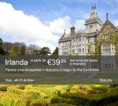 Promoções Aer Lingus: Irlanda a Metade do Preço
