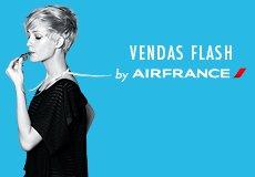 Vendas Flash na Air France: 24 Horas de Promoções