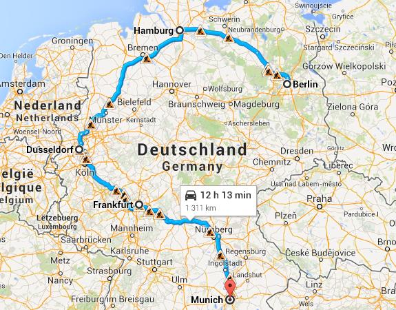 Roteiro Turistico na Alemanha