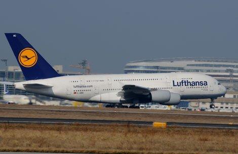 Viagens no A380 para Nova Iorque, Xangai, e Singapura