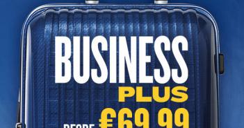 Bilhetes de avião em classe executiva na Ryanair