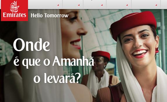 Emirates com Promoções: Voos em Classe Económica