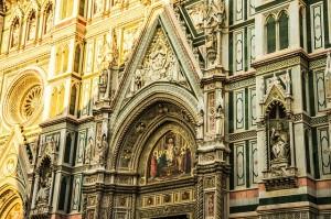 Pormenor da área exterior da Catedral