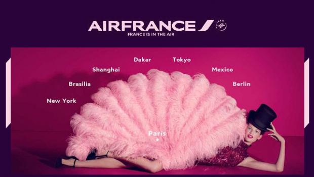 Passagens Aéreas na Air France com Descontos até 42%
