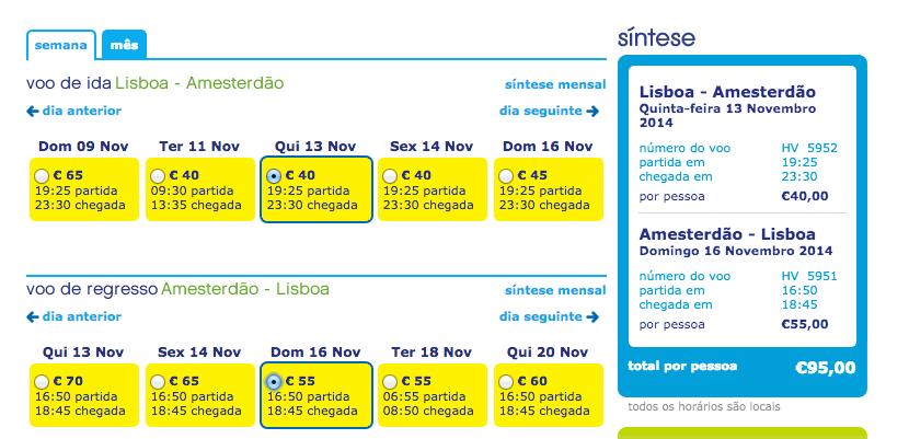 Viajar barato para Amesterdão