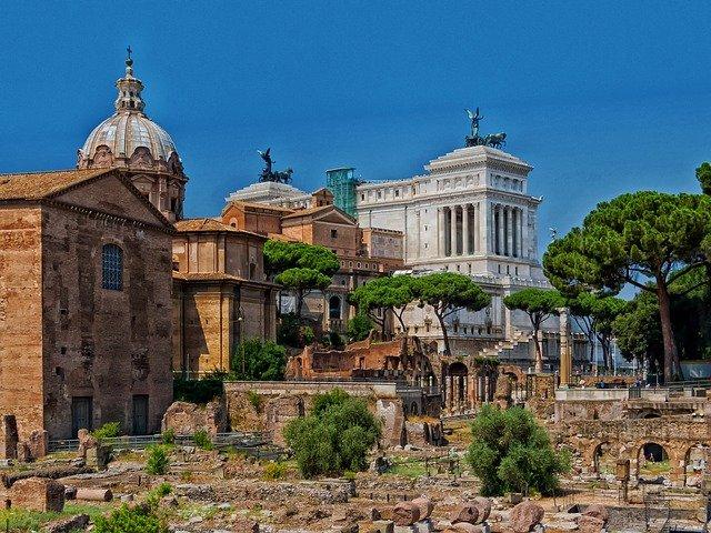 Forum Romano, Coliseu e Arco de Constantino