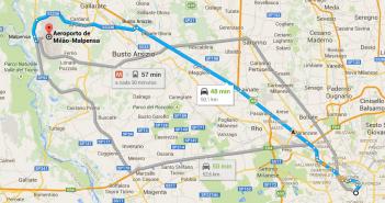 Como ir do aeroporto para Milão