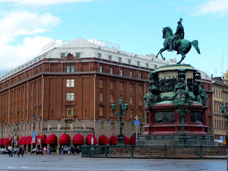 Transportes do aeroporto para o centro de São Petersburgo