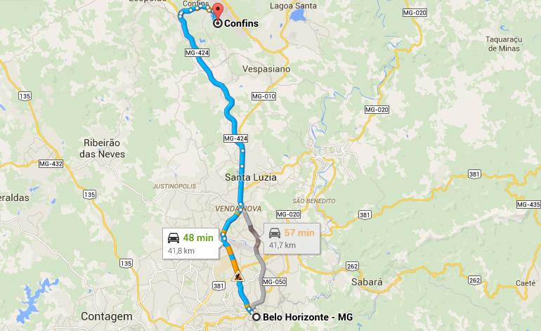 Como chegar ao aeroporto de Confins a partir de Belo Horizonte