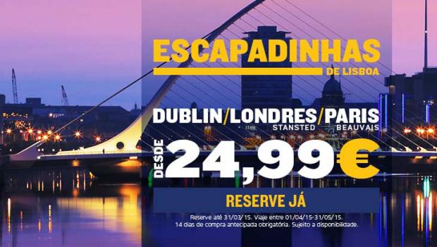 Viagens Low Cost na Europa: Ofertas Ryanair e Easyjet