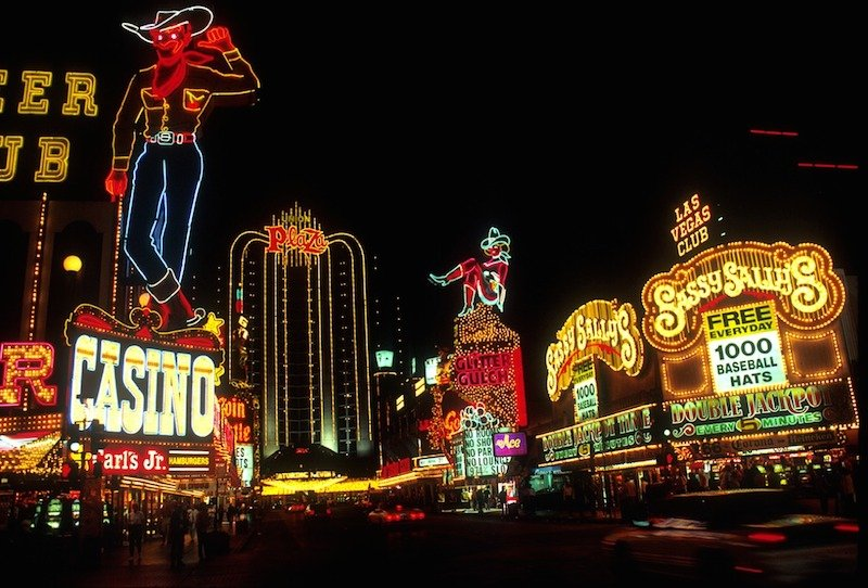 Transportes do aeroporto para o centro de Las Vegas