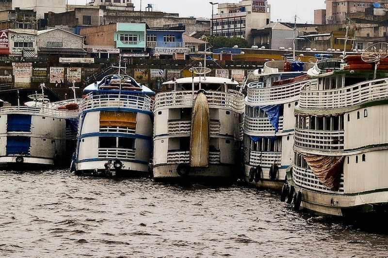 Transportes do aeroporto de Manaus ao centro da cidade