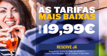 Viagens low cost na Ryanair