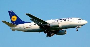 Voos para a Europa na Lufthansa