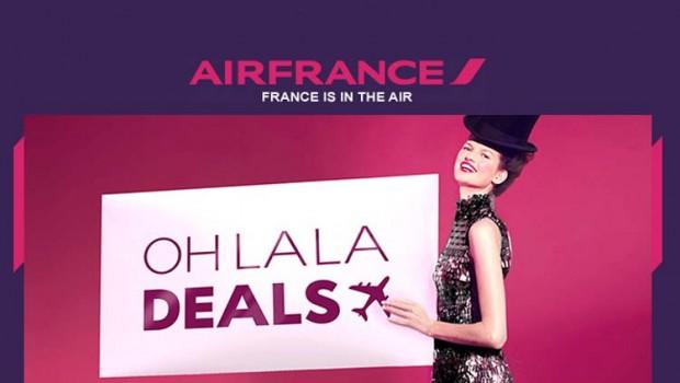 Saldos na Air France nos Voos de Longo Curso