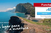 Tarifas a 48 euros para a Madeira