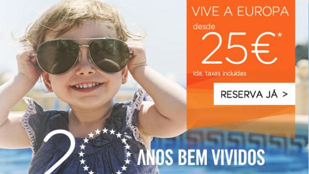 Promoções na Easyjet e Transavia com Voos desde 25 euros