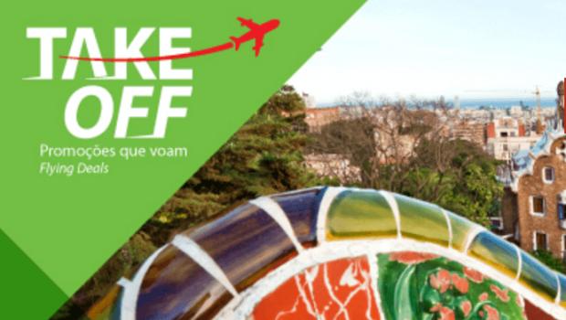 Promoções Take Off na TAP: Europa desde 43€