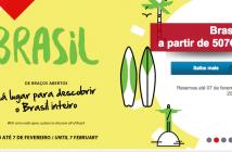 TAP com ofertas para o Brasil
